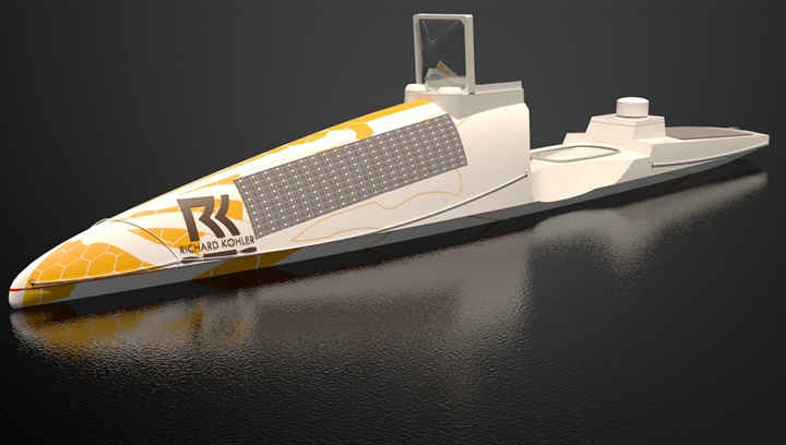 Ocean X composite kayak