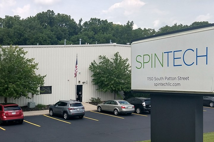 Spintech Holdings' facility in Dayton, Ohio.