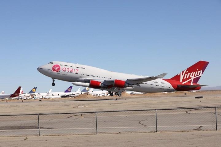 Virgin Orbit LauncherOne flight test