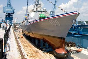 Collins Aerospace awarded $64 million contract for composite warship sonar domes