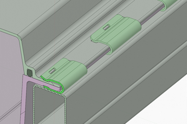 CAD file of CSP and Teijin clip system.