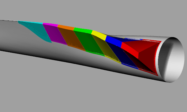 GFRP trailing edge spoilers for rotor blades achieve 6% AEP increase image