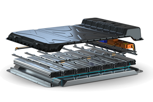 High-voltage composite battery housing concept developed for e-mobility applications