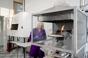 Finnester Coatings opens in-house fire lab for composite testing