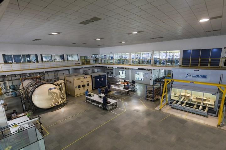 Kineco Kaman Composites manufacturing facility