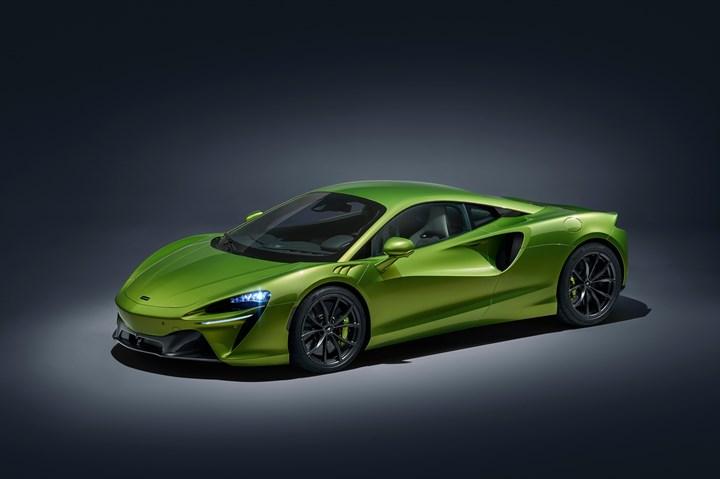 Next-gen McLaren Artura.
