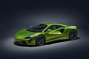 McLaren Artura features new composite architecture