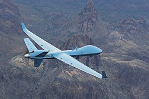 GKN Aerospace to beginfull-rate composite V-tail production forGA-ASI aircraft