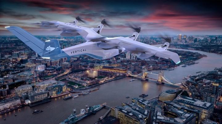 Vertical Aerospace VA-1X in flight rendering