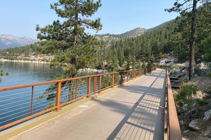 Tahoe FRP bridge.