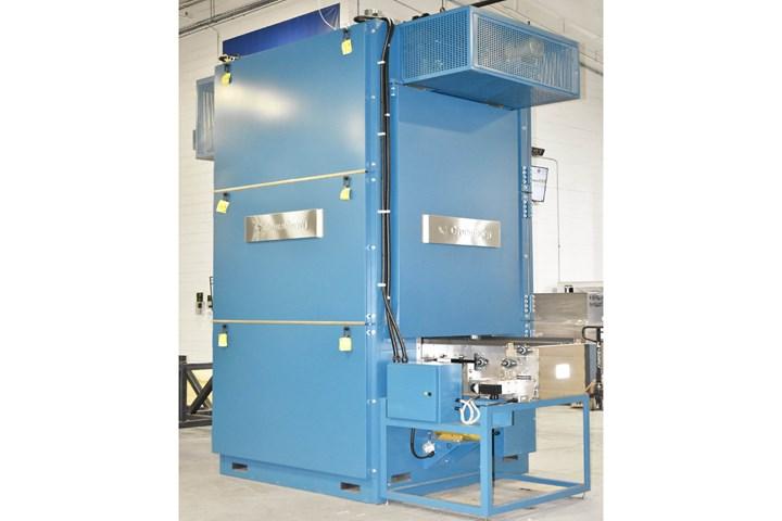Gruenberg Vertical Conveyor Oven.