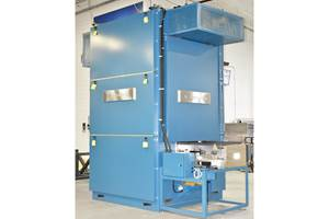 TPS船Gruenberg立式输送机烤箱,满足特定的客户需求