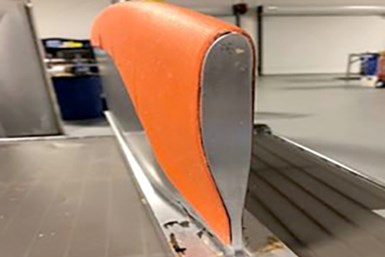 Use of VeeloHEAT Caul on aircraft rotor blade.