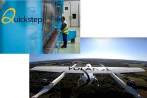 Volansi VTOL drone delivery leader and composite manufacturer Quickstep sign MoU