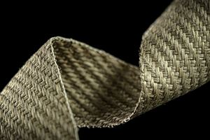 Natural fiber woven tapes possess improved mechanical properties, sustainability
