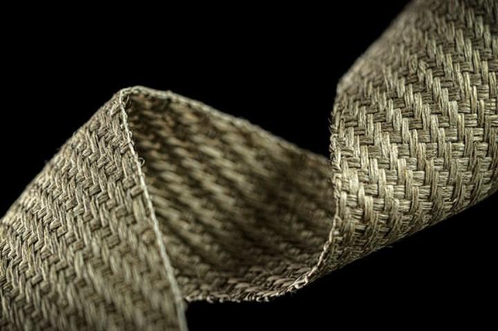 Natural fiber composite textiles