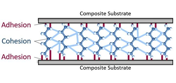 Adhesion and cohesion substrates