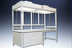 Hemco laminar flow clean enclosures meet critical clean requirements