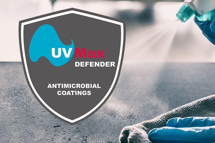 UVMax Defense antimicrobial protection agent.