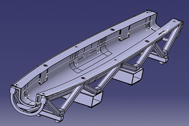 Aerospace composite cure tool design