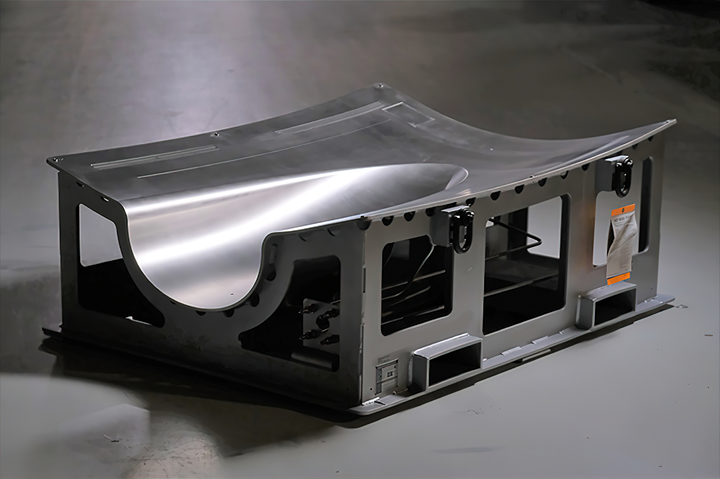 Aerospace tool with the facesheet 3D printed in Invar