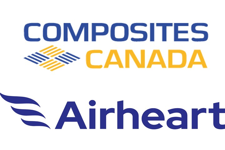 Composites Canada and Airheart logos.