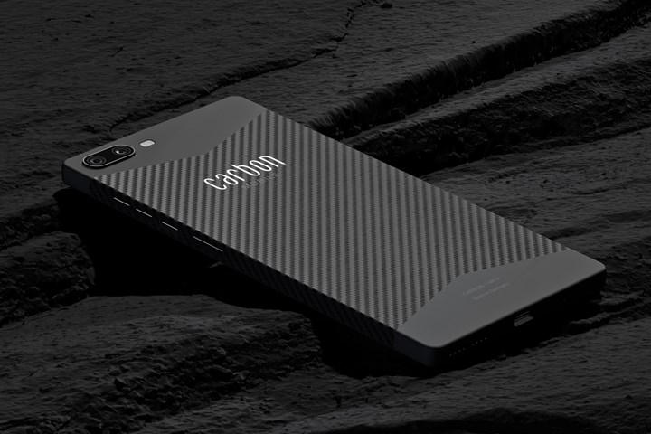 Carbon 1 MK II carbon fiber smartphone.