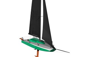 FLOKI 6.5 mini racing yacht integrates bio-based Sicomin GreenPoxy resins