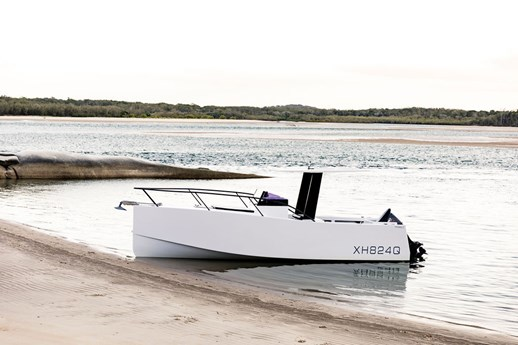 ATL Composite panel systems enable Noosa 7 dynamic dayboat design