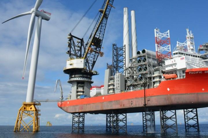 Offshore wind development.