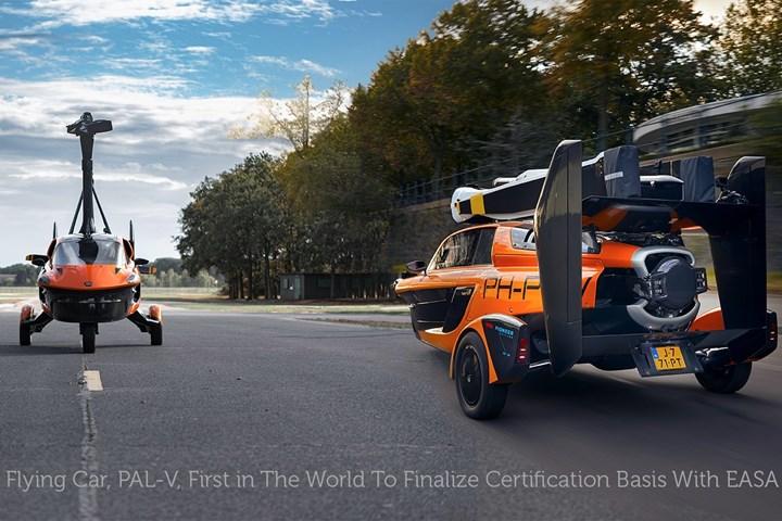 PAL-V Liberty flying car.