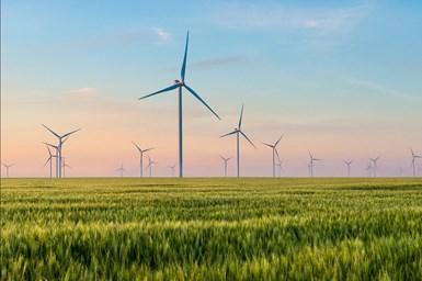 SABIC wind turbines.