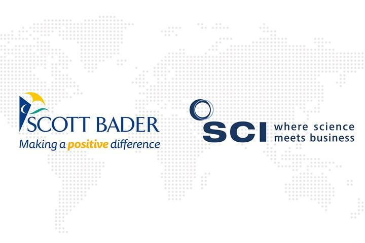 Scott Bader and SCI logos.