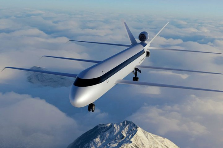SE Aeronautic's SE200 airliner concept