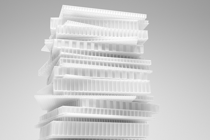 ThermHex honeycomb core products.