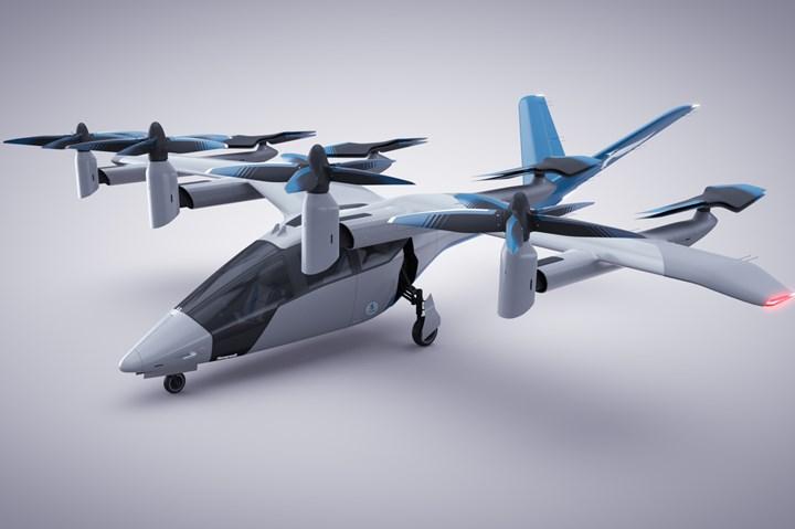 Vertical Aerospace VA-1X eVTOL aircraft.