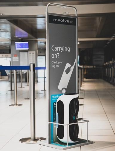 旋转空气有可能作为机场旅客的租赁服务提供。