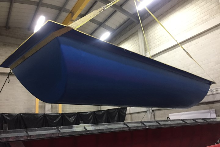 Soling composite covers for Bogotá Casablanca tank, part pull