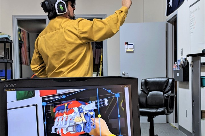 Wilson Boynton uses augmented reality to deliver composites training.
