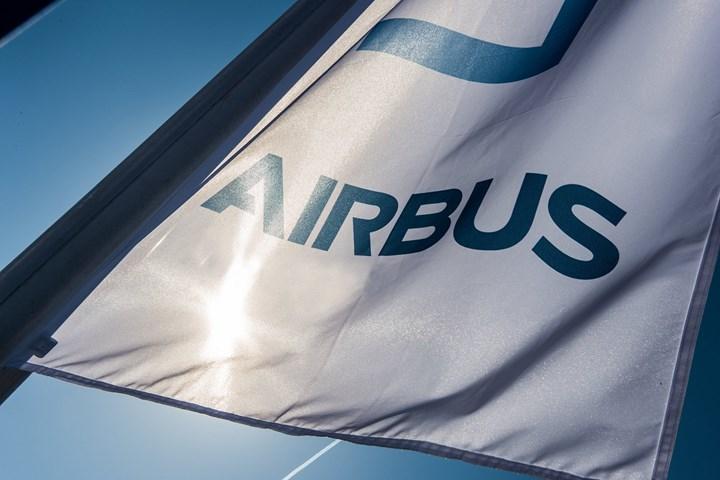 Airbus flag.