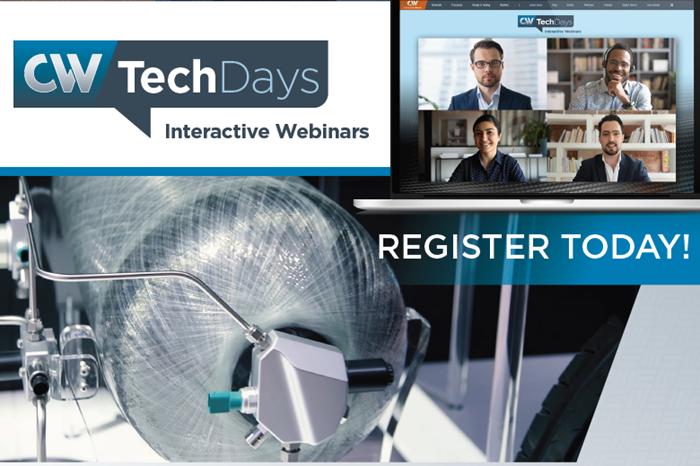 CW Tech Days webinar explores composites in the hydrogen economy