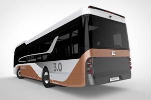 为EBUSCO电气城市公共汽车选择了遥复合组件