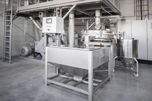 内部聚合物粉碎机扩展了Ensinger的复合材料的制造能力