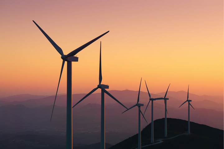 GWEC wind turbines.