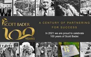 斯科特·糟糕庆祝100年作为公司,70年雇员拥有