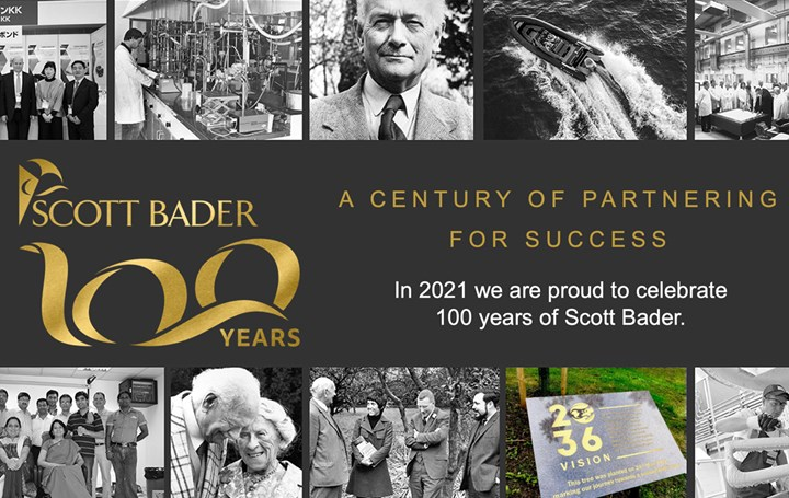 Scott Bader celebrates centenary year as a company and 70 years employeed-owned.