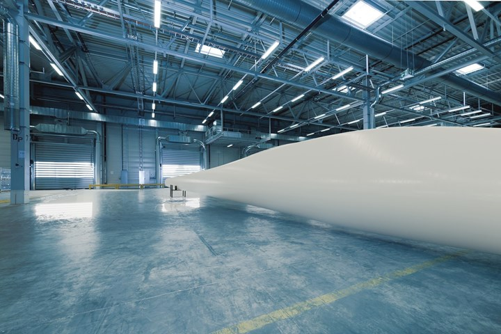 HexPly XF composite surface materials applied to wind blades.