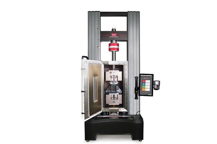 复合材料测试系统,用于在温度下冲击(CAI)测试后进行压缩。