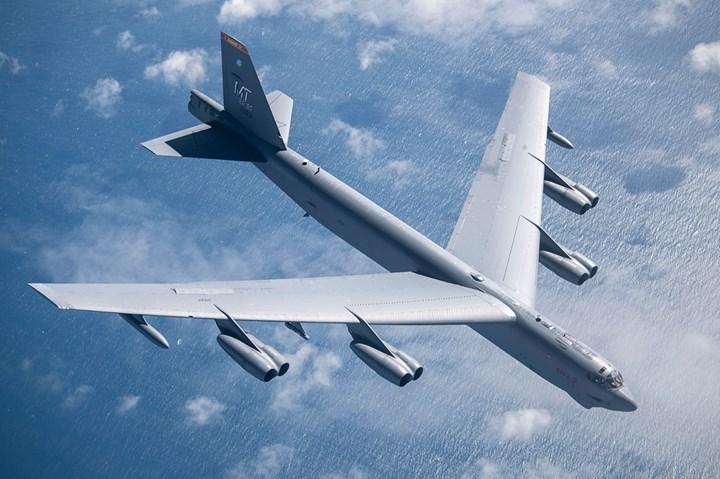 B-52 Stratofortress aircraft.