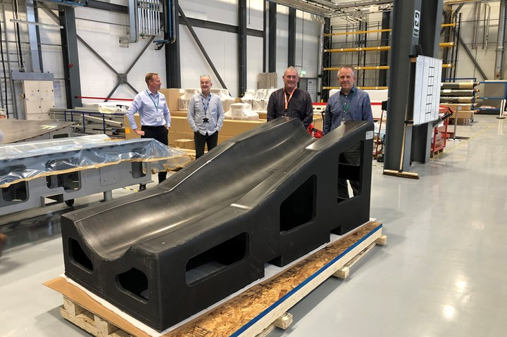 BAE Systems' 3D-printed tool.